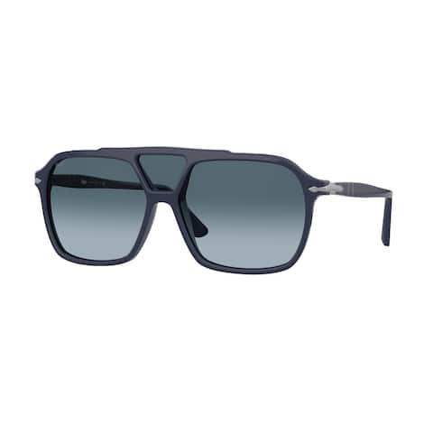 Persol PO3223S 1109Q8 59 Blue Man Square Sunglasses