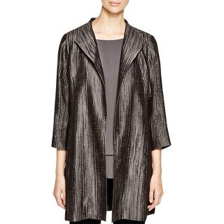 Eileen Fisher Womens Petites Coat Silk Lined - pl