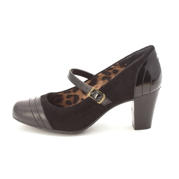 7add8add9420f CLARKS Womens Sapphire Stel Closed Toe Ankle Strap Mary Jane Pumps - 7