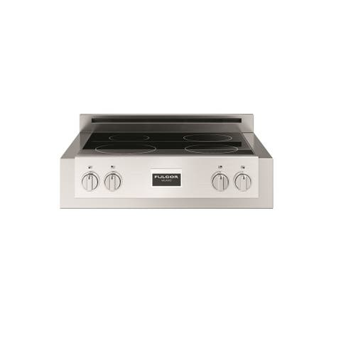 """Fulgor Milano F6IRT304 30"""" Wide Built-In Proffesional Induction Rangetop with Premium Induction Technology and Booster Function"""