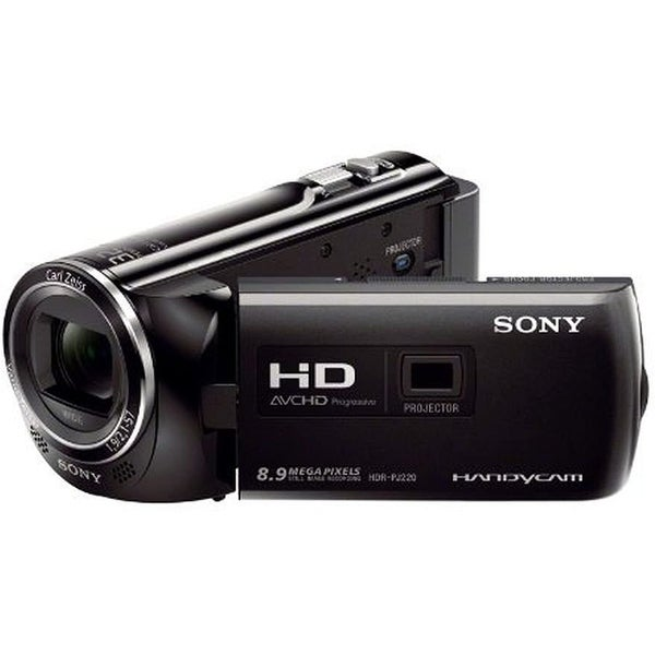 Sony PJ220, HDR-PJ220 Full HD Handycam X 27 Optical Zoom and Built-in. Opens flyout.