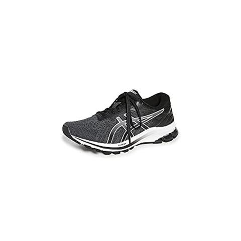 ASICS Women's GT-1000 10 Running Shoes, Black/White