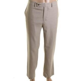 Calvin Klein Mens Pindot Straight Leg Dress Pants - 38/32