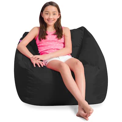 Posh Creations Coronado Bean Bag Chair for Boys and Girls, Large Chair for Kids, Great for Gaming and Playrooms