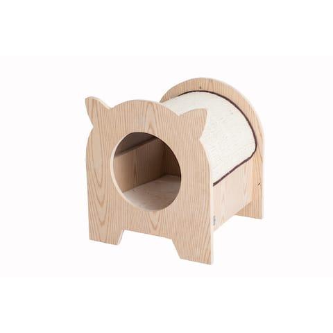Armarkat Model S1203 Premium Wood Cat Hideaway