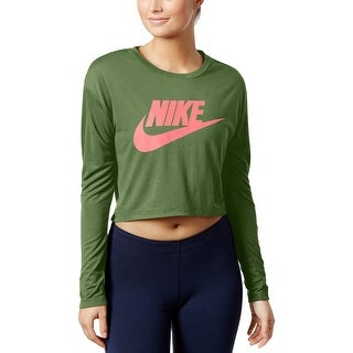 Nike Womens Shirts & Tops Cropped Fitness