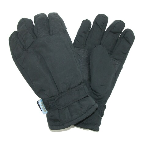 CTM® Men's Waterproof Thinsulate and Fleece Lined Ski Gloves
