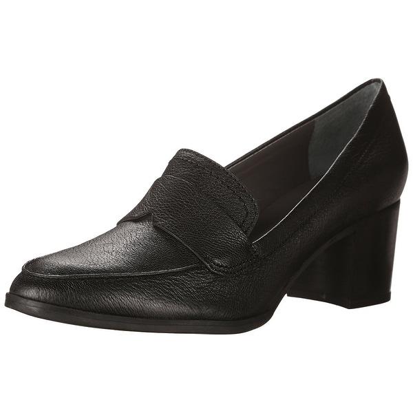 Franco Sarto Womens Adobe Leather Closed Toe Classic Pumps