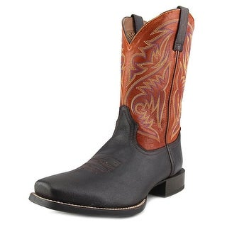 Ariat Sport Herdsman Men Square Toe Leather Brown Western Boot
