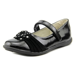 Balleto by Jumping Jacks Megan Youth W Round Toe Synthetic Black Mary Janes