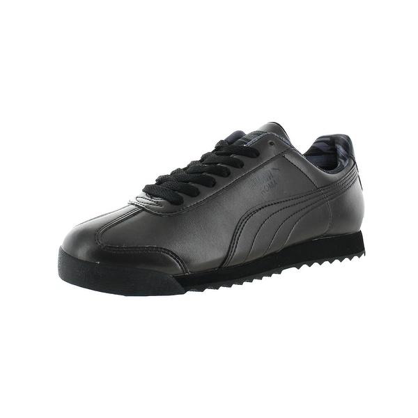 0d1b3f9c287 Puma Womens Roma Metallic Fashion Sneakers Faux Leather Shimmer - 6.5  medium (b