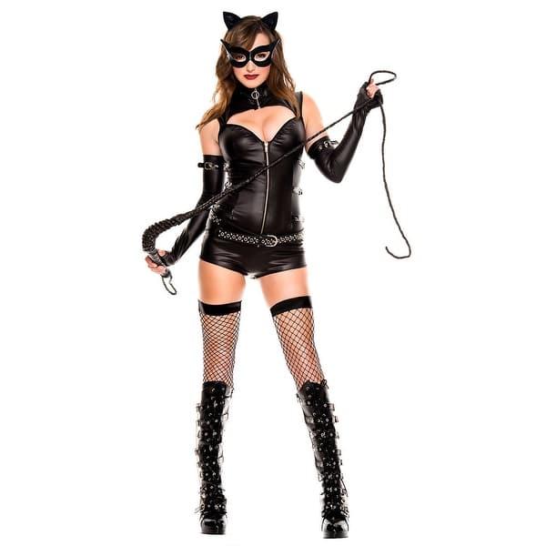 Shop Black Friday Deals On Feline Villain Costume As Shown Overstock 28145045 Small