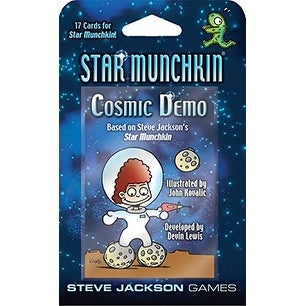 Star Munchkin Cosmic Demo Card Game
