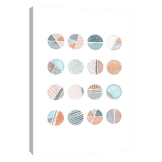 "PTM Images 9-105595  PTM Canvas Collection 10"" x 8"" - ""Quilted Spheres 1"" Giclee Patterns and Designs Art Print on Canvas"