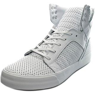 Supra SkyTop HF Round Toe Leather Sneakers