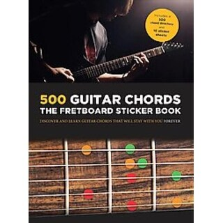 500 Guitar Chords - Hereward Kaye