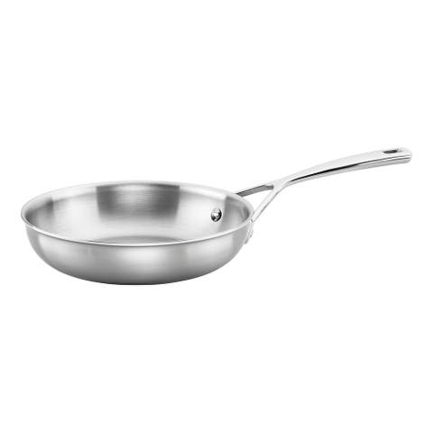 ZWILLING Aurora 5-ply Stainless Steel Fry Pan - Stainless Steel