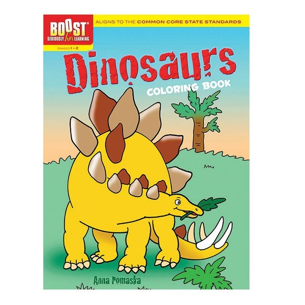 Shop Boost Dinosaurs Coloring Book - Free Shipping On Orders Over ...