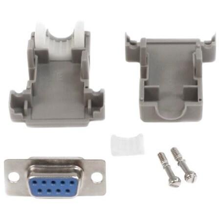 Startech C9psf Assembled Db9 Female Solder D-Sub Connector W/ Plastic Backshell