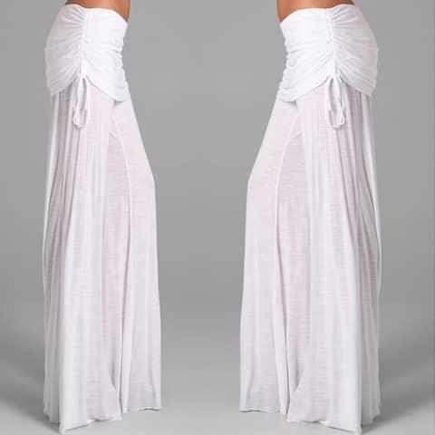 Ladies Fashion Wide-Leg Pants Dance Trousers