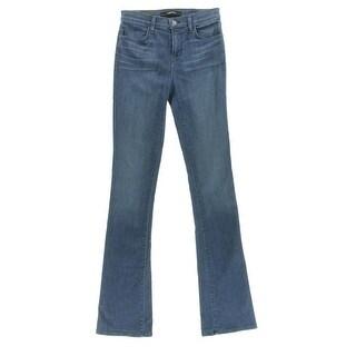 J Brand Womens Remy High Waist Medium Wash Boot Cut Jeans - 27