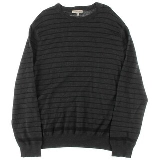 Calvin Klein Jeans Mens Striped Knit Pullover Sweater - XXL