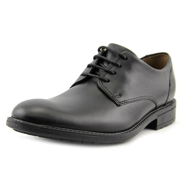 Clarks Narrative Truxton Plain Men Round Toe Leather Oxford