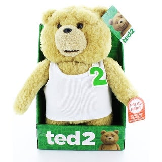 "Ted 2 11"" Talking Plush Ted In Undershirt (Rated R)"
