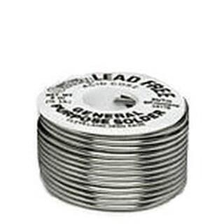 Oatey 53177 95/5 Lead-Free Rosin Core Wire Solder, 1/4 lbs