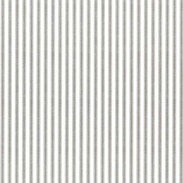 Brewster 2604-21248 Longitude Black Pinstripes Wallpaper - black pinstripes - N/A