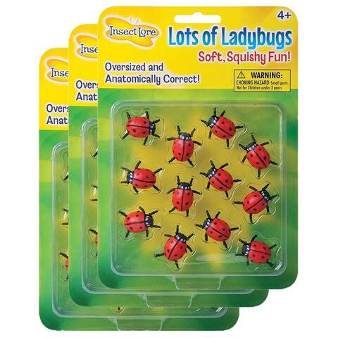 (3 Ea) Lots Of Ladybugs