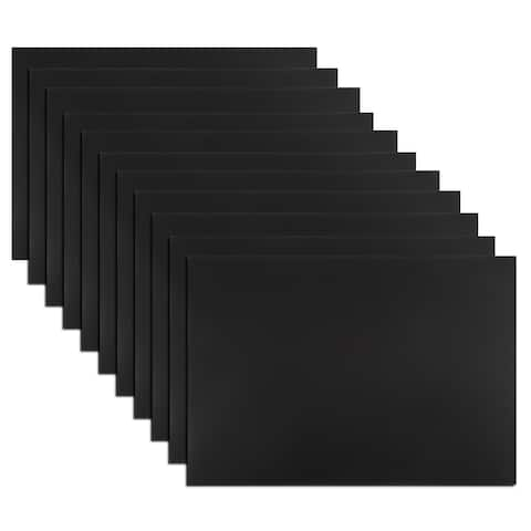 """10 Pcs Flexible Magnetic Strip 11.7"""" x 8"""" Magnetical Sheet Stickers for Crafts"""