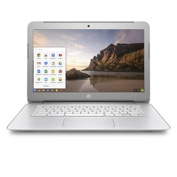 """Refurbished - HP Chromebook 14-ak010nr 14"""" Laptop Intel N2840 2.16 GHz 2GB 16GB eMMC Chrome OS"""