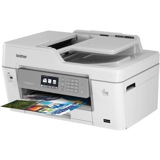 Brother Mfcj6935dwxl Multifunction Inkjet Printer, Duplex 4800 Dpi X 1200 Dpi
