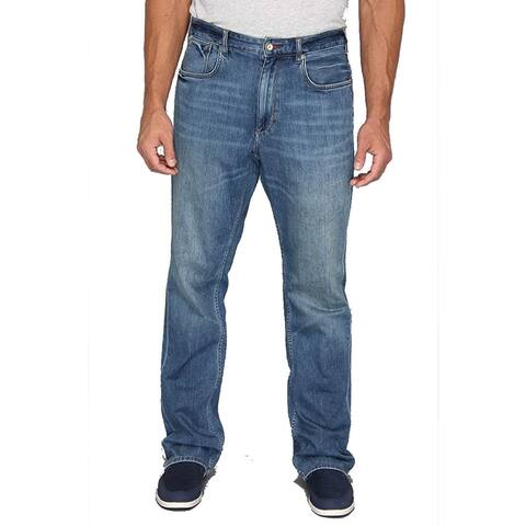 Tommy Bahama Big & Tall New Cooper Authentic Jean, Medium Worn Wash, 54 X 34 - 54 X 34