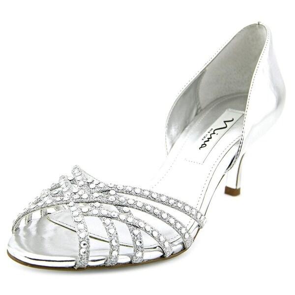 Nina Coastal Open Toe Synthetic Sandals