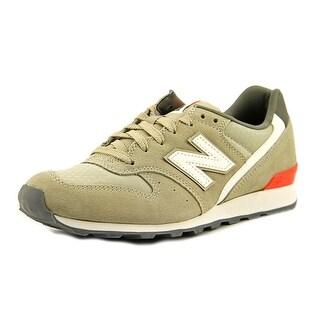 New Balance WL696 Round Toe Suede Running Shoe