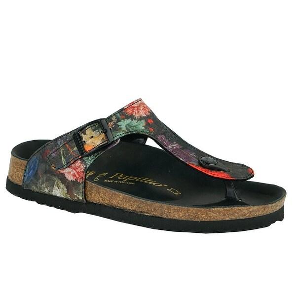 0195e357bcf9 Shop Birkenstock Gizeh Papillio Textile Sandals - floral bouquet - Free  Shipping Today - Overstock - 24257676