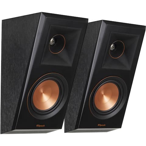 Klipsch RP-500SA Dolby Atmos Elevation / Surround Speaker (Ebony)