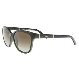 Chloe CE664S 303 Khaki Cat Eye Sunglasses - 54-16-135