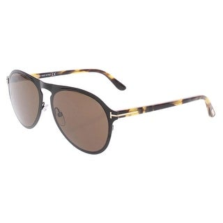 Link to Tom Ford Bradburry Men's Signature Non-Polarized Aviator Sunglasses - Black/Brown - O/S Similar Items in Women's Sunglasses