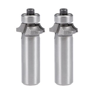 2Pcs Router Bit 1/2 Shank 1/4¡®¡¯ Dia Round Corner Tungsten for Milling Cutter