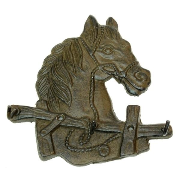 Cast Iron Horse Head Hooks