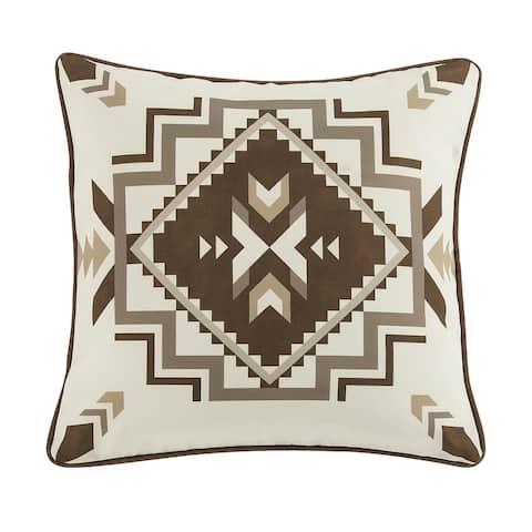 HiEnd Accents Dakota Outdoor Pillow, 20x20