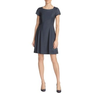 Theory Womens Wear to Work Dress Solid A-Line