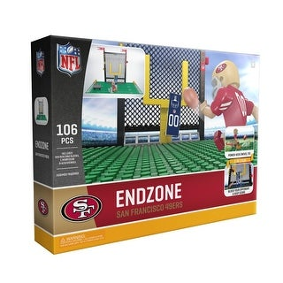 San Francisco 49ers NFL OYO Sports Endzone Set - Multi