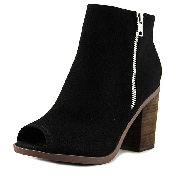 Call It Spring Womens metaponto Fabric Open Toe Ankle Fashion Boots