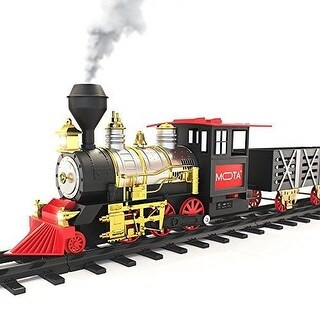 Mota Classictrain Classic Toy Train With Sounds Lights And Blows Real Smoke
