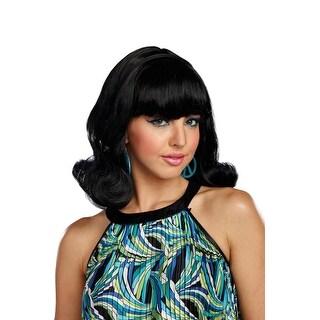Dreamgirl Decades Flip Wig - Black