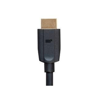 Monoprice DynamicView Ultra 8K HDMI Cable - 3 Feet - Black